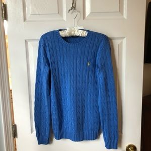 Ralph Lauren Sport cable crewneck sweater
